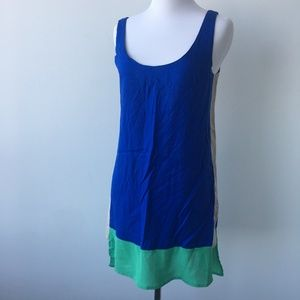 Sparkle and Fade Size Small 3 Tone Tank Dress